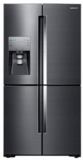 "RF22K9381SG Samsung 36"" 22 cu. ft. Capacity Counter Depth 4-Door Flex Food Showcase Refrigerator with FlexZone - Black Stainless Steel"