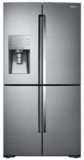 "RF22K9381SR Samsung 36"" 22 cu. ft. Capacity Counter Depth 4-Door Flex Food Showcase Refrigerator with FlexZone - Stainless Steel"
