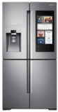 """RF22M9581SR Samsung 36"""" 22 cu. ft. Counter Depth 4-Door Flex Food Showcase Refrigerator with FlexZone and Triple Cooling System - Stainless Steel"""