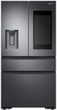 """RF23K8570SG Samsung 36"""" 22.2 cu. ft. Counter Depth 4 Door Refrigerator with Family Hub 2.0 and Twin Cooling Plus - Black Stainless Steel"""