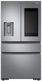 """RF23K8570SS Samsung 36"""" 22.2 cu. ft. Counter Depth 4 Door Refrigerator with Family Hub 2.0 and Twin Cooling Plus - Stainless Steel"""