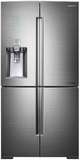 "RF24J9960S4 Samsung 36"" Wide 34 Cu. Ft. Ultra High Capacity 4-Door French Door Refrigerator with Water Dispenser - Stainless Steel"