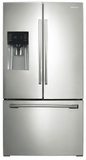 RF263BEAESP Samsung 26 cu.ft. French Door Refrigerator with External Water & Ice Dispenser - Stainless Platinum