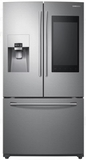 """RF265BEAESR Samsung 36"""" 24.2 cu. ft. French Door Flex Refrigerator with Family Hub 2.0 and Twin Cooling Plus - Stainless Steel"""