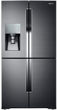 "RF28K9070SG Samsung 36"" French Door 4-Door 28 Cu. Ft. Refrigerator with Triple Cooling - Black Stainless Steel"