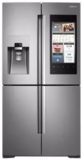 """RF28M9580SR Samsung 36"""" 27.9 cu. ft.  French Door Refrigerator with Family Hub� and Built-In Cameras - Stainless Steel"""