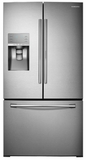 RF30HDEDTSR 30 cu. ft. Capacity 3-Door French Door Food ShowCase Refrigerator with Dual Ice Maker - Stainless Steel