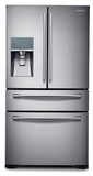 RF31FMEDBSR Samsung 31 cu. ft. 4-Door Refrigerator with FlexZone� Drawer - Stainless Steel