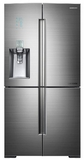 RF34H9950S4 Samsung 34 cu. ft. Ultra-High Capacity 4-Door French Door Chef Collection Refrigerator - Stainless Steel