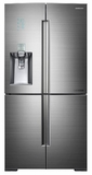 RF34H9960S4 Samsung 34 cu. ft. Ultra-High Capacity 4-Door French Door Chef Collection Refrigerator - Stainless Steel