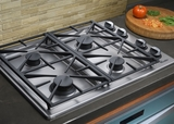 "RGC304BLP Dacor Renaissance 30"" Liquid Propane Gas Cooktop - Black"
