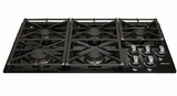 "RGC365BLP Dacor Renaissance 36"" Liquid Propane Gas Cooktop - Black"