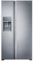 RH22H9010SR Samsung  22 cu. ft. Capacity Counter Depth Side-by-Side Food ShowCase Refrigerator - Stainless Steel