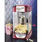 RKP-630 Nostalgia Electrics Retro DIner Style Hot Oil Popcorn Popper