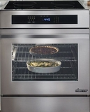 "RNR30NIFS Dacor Renaissance 30"" Induction Slide-In Range with Flush Handle - Stainless Steel"
