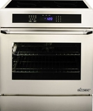 """RNR30NIS Dacor Renaissance 30"""" Induction Slide-In Range with Epicure Handle - Stainless Steel"""