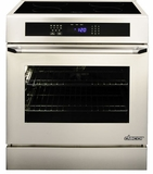 "RR30NIS Dacor Renaissance Series 30"" Induction Slide-In Range with Epicure Style Handle - Stainless"