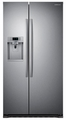 RS22HDHPNSR Samsung 22 cu. ft. Large Capacity Side-By-Side Refrigerator - Stainless Steel