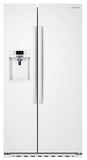 RS22HDHPNWW Samsung 22 cu. ft. Counter Depth Side-By-Side Refrigerator - White