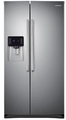 "RS25H5121SR Samsung 36""-Wide, 25 cu. ft. Capacity Side-By-Side Refrigerator with CoolSelect Zone - Stainless Steel"