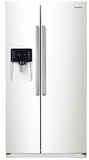 """RS25H5121WW Samsung 36""""-Wide, 25 cu. ft. Capacity Side-By-Side Refrigerator with CoolSelect Zone - White"""