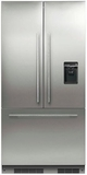 "RS36A72U1 Fisher & Paykel 36"" ActiveSmart French Door Built-in Refrigerator with Ice & Water � 72"" Tall - Custom Panel"