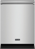 """RVDW102SS Viking 24"""" Fully Integrated Dishwasher with 12 Place Settings 5 Cycles Adjustable Upper Rack - Stainless Steel"""