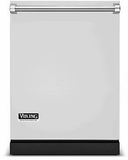 """RVDW103WSSS Viking 24"""" Dishwasher with Water Softener and Installed Viking Stainless Steel Panel - Stainless Steel"""