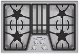 "SGS304FS Thermador 30"" Masterpiece Gas Cooktop with 4 Star Burners - Stainless Steel"