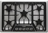 "SGSX305FS Thermador 30"" Masterpiece Deluxe Gas Cooktop with 5 Star Burners - Stainless Steel"