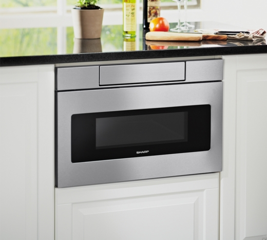 Smd3070as Sharp 30 Quot Microwave Drawer Oven With Hidden