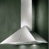 "T236SS Elitair Palermo 36"" Wall Mount Range Hood with 700 CFM Blower - Stainless Steel"