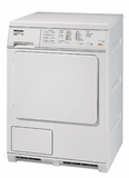 T8023C Miele Touchtronic Large Capacity Condenser Dryer with Stainless Honeycomb Drum - White