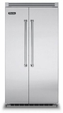 "VCSB5422SS Viking 42"" Built-in Professional Series Side-by-Side Refrigerator with Plasmacluster Ion Air Purifier  - Stainless Steel"