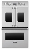 "VDOF730SS Viking Professional 7 Series 30"" Electric French-Door Premiere Built-in Double Oven - Stainless Steel"