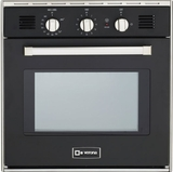 "VEBIG24E Verona 24"" Gas Built-in Oven - Black"