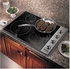 "VEC5304BSB Viking 30"" Electric Radiant Cooktop with Quickcook & Bridge Element - Black & Stainless Steel"