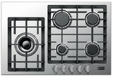 "VECTGM305SS Verona Designer Series 30"" Gas Cooktop with Front Controls - Stainless Steel"