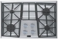 "VECTGMV304SS Verona 30"" Gas Cooktop with Front Controls - Stainless Steel"