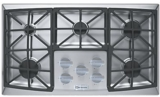 """VECTGV365SS Verona 36"""" Gas 5 Burner Cooktop with Front Controls - Stainless Steel"""