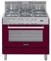 "VEFSGE365NBU Verona 36"" Dual Fuel Single Oven Range - Burgundy"