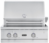 "VGBQ53024LSS Viking Professional 5 Series 30"" Ultra-Premium Built-in Gas Grill - LP Gas - Stainless Steel"