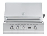 "VGBQ53624NSS Viking Professional 5 Series 36"" Ultra-Premium Built-in Gas Grill - Natural Gas - Stainless Steel"