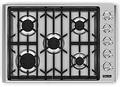 "VGC530-5BSSLP Viking 30"" LP Gas Cooktop with Sealed Burners - Stainless Steel"