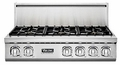 "VGRT7364GSS Viking Professional 7 Series 36"" Gas Rangetop - 4 Burners with 12"" Griddle - Stainless Steel"