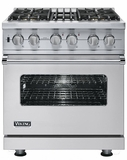Viking Dual Fuel Ranges 30-INCH