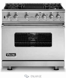 Viking Dual Fuel Ranges 36-INCH