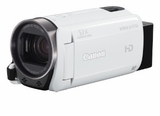VIXIA HFR700 Canon Camcorder with 57x Advanced Zoom and SuperRange Optical Image Stabilization - White