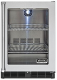 "VRCI5240GRSS Viking 24"" Undercounter Refrigerator with Forced Air Cooling System - Right Hinge - Stainless Steel"