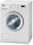 W3038 Miele European Standard Capacity Washing Machine with Honeycomb Drum & Light - White